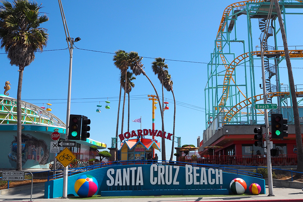 Road trip en Californie #5 : Santa Cruz