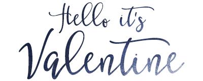Hello it's Valentine