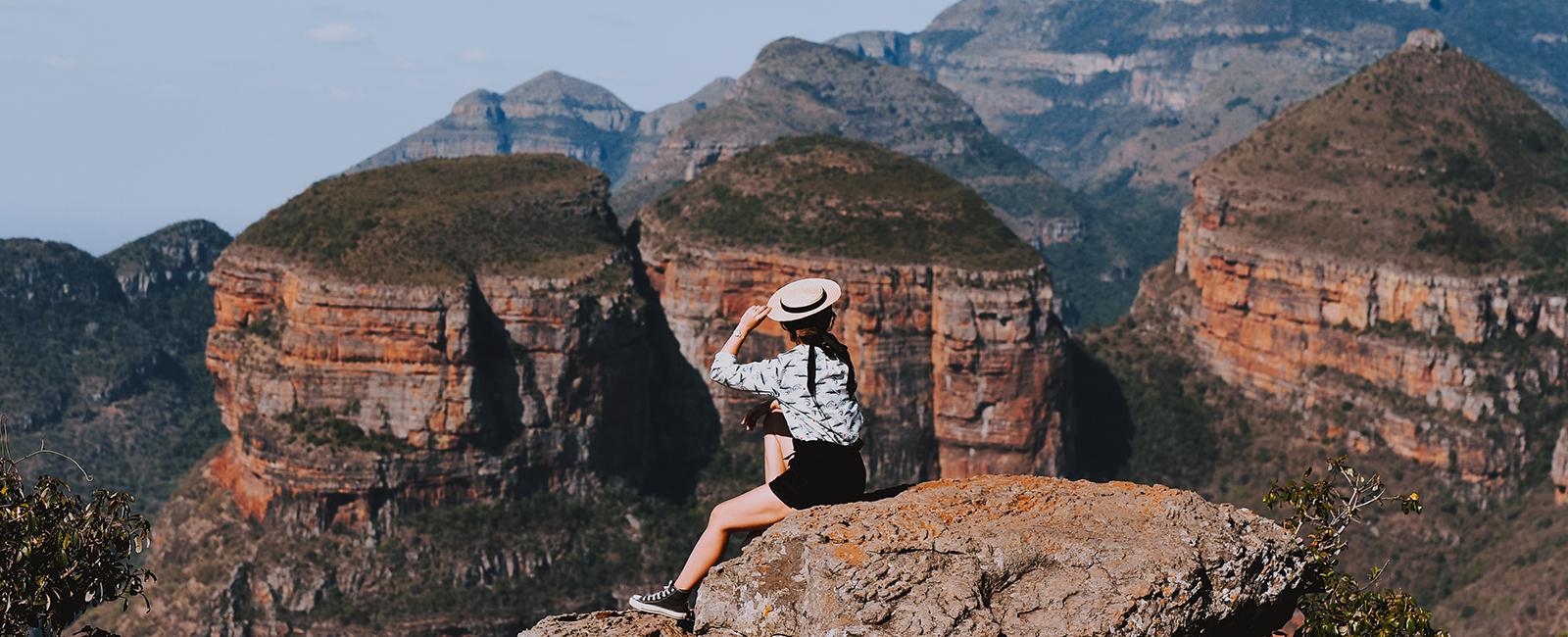 L'Afrique du Sud, entre Hazyview et Blyde River Canyon Nature Reserve