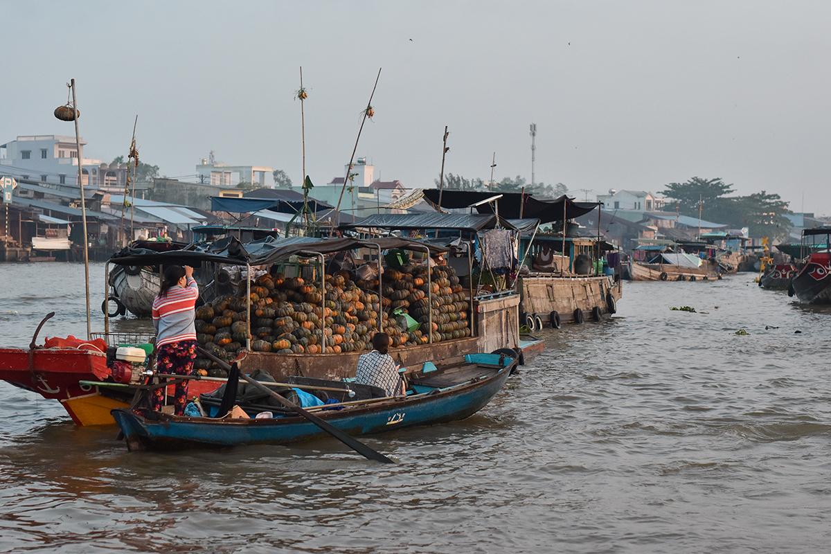 Helloitsvalentine MarcheFlottant CaiRang CanTho DeltaduMekong 1 - Quelques jours au Vietnam – Le marché flottant de Cai Rang à Can Tho sur le Delta du Mékong
