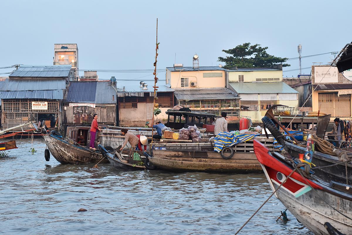 Helloitsvalentine MarcheFlottant CaiRang CanTho DeltaduMekong 10 - Quelques jours au Vietnam – Le marché flottant de Cai Rang à Can Tho sur le Delta du Mékong