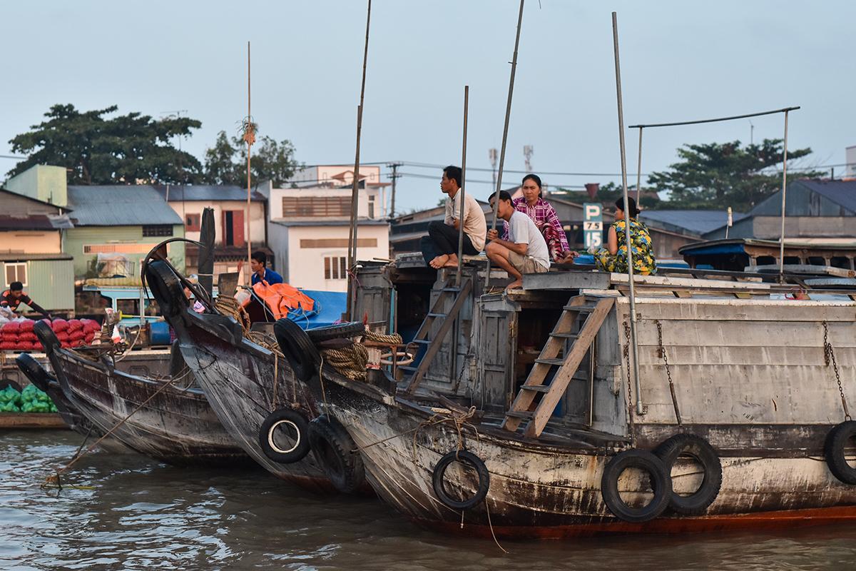 Helloitsvalentine MarcheFlottant CaiRang CanTho DeltaduMekong 13 - Quelques jours au Vietnam – Le marché flottant de Cai Rang à Can Tho sur le Delta du Mékong