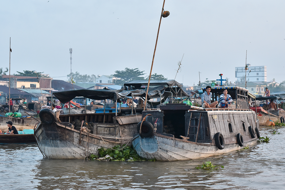 Helloitsvalentine MarcheFlottant CaiRang CanTho DeltaduMekong 15 - Quelques jours au Vietnam – Le marché flottant de Cai Rang à Can Tho sur le Delta du Mékong