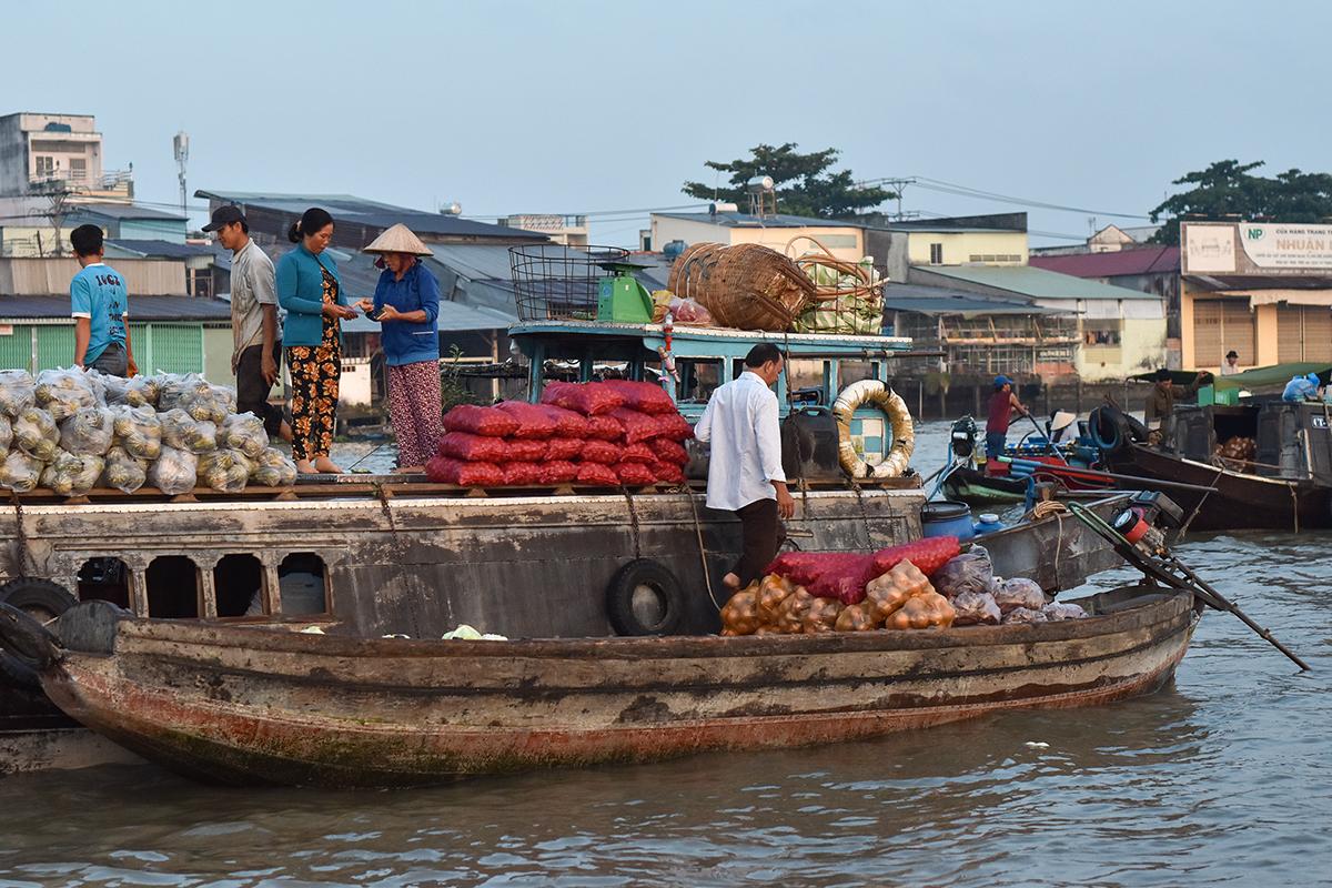 Helloitsvalentine MarcheFlottant CaiRang CanTho DeltaduMekong 3 - Quelques jours au Vietnam – Le marché flottant de Cai Rang à Can Tho sur le Delta du Mékong