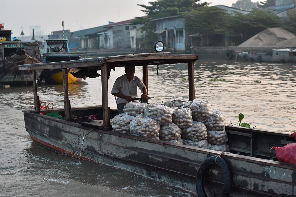 Helloitsvalentine MarcheFlottant CaiRang CanTho DeltaduMekong 7 - Quelques jours au Vietnam – Le marché flottant de Cai Rang à Can Tho sur le Delta du Mékong