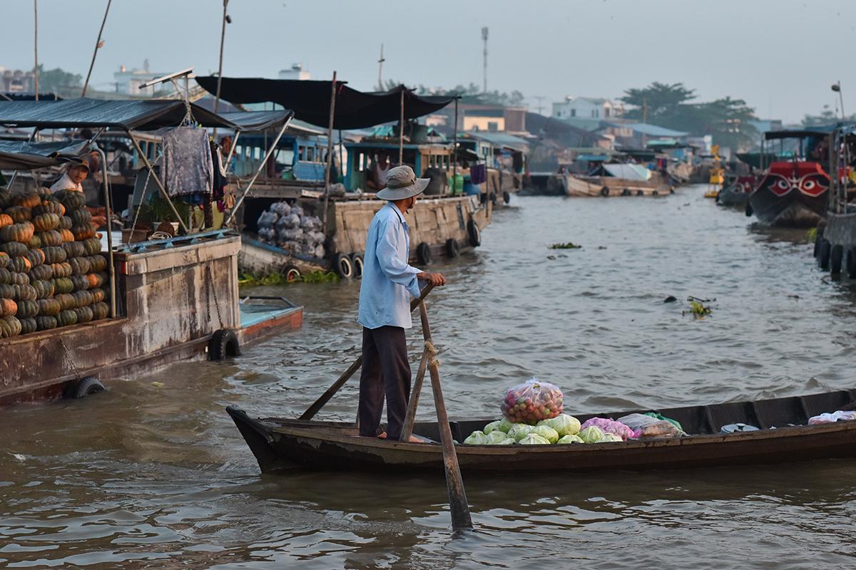 Helloitsvalentine MarcheFlottant CaiRang CanTho DeltaduMekong 8 - Quelques jours au Vietnam – Le marché flottant de Cai Rang à Can Tho sur le Delta du Mékong