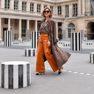 Leopard & orange