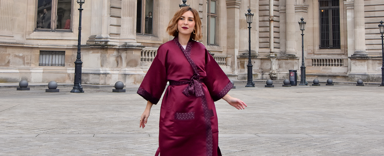 Oh My Darling Paris – Kimono MYRTILLE
