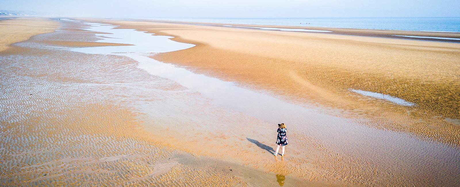 La Normandie à vélo, le long des plages du Débarquement