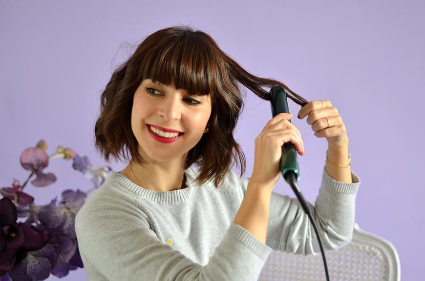 Cheveux mi long comment les boucler