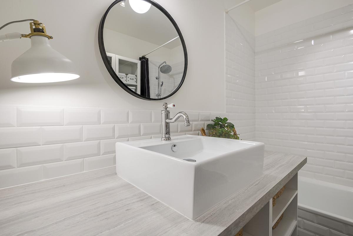 Pose Zellige Sans Joint relooking de notre salle de bain | hello it's valentine