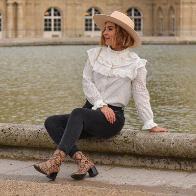 Oh My Darling Paris – Blouse MERINGUE